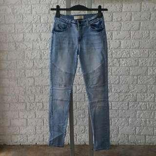 COTTON ON Ladies Skinny Jeans Size 4 Waist 26 Inches
