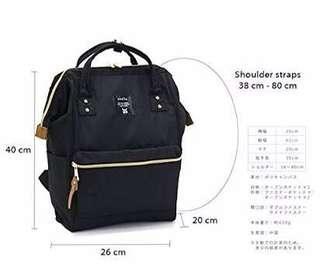 Brandnew Anello backpack