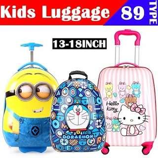 Kids Luggage Trolley