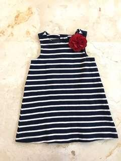 Flower Stripes Dress