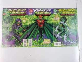 Green Lantern and Sentinel Heart of Darkness (1998) Comics Set