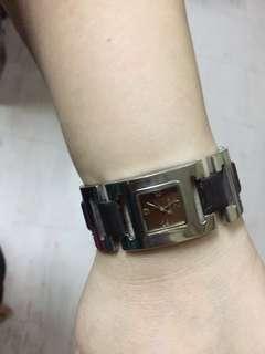 Michael Kors brown and metal watch mk3050
