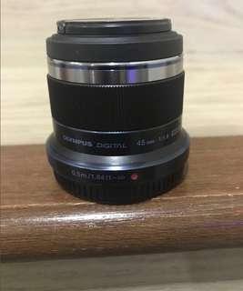 Olympus lens 45mm potrait