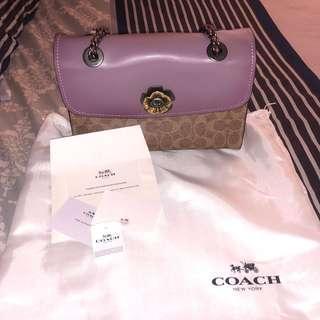 coach parker bag authentic / tas original