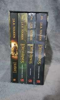 The Lords of the Rings boxed set