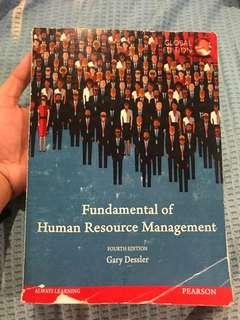 NEGO - FUNDAMENTAL OF HUMAN RESOURCE MGT