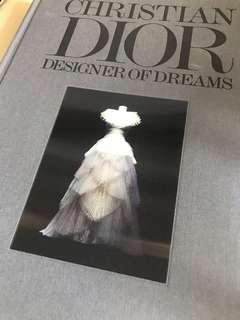 Christian Dior Designer of dreams Book