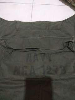 Us navy monkey pants fashion size 32