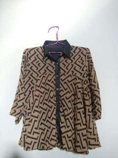 Women Blouse brown
