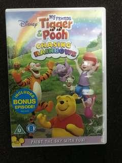 DVD Tigger and Pooh Chasing Rainbows 🌈