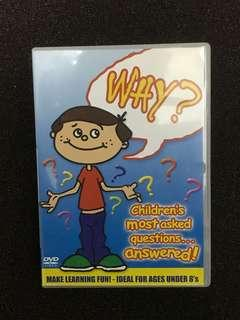 DVD - WHY? Children's most asked questions Answered
