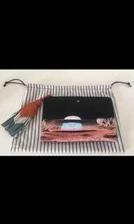 Anya Hindmarch satin clutch (price reduced)