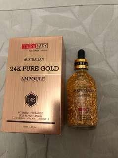 24K pure gold ampoule