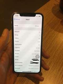 iPhone x 64gb (garansi iBox sampe agustus 2019)