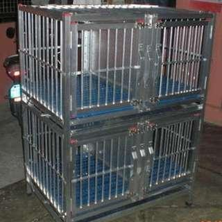 DOG CAGE ALLOY