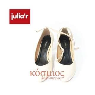 Julia'r Pump Shoes Ivory
