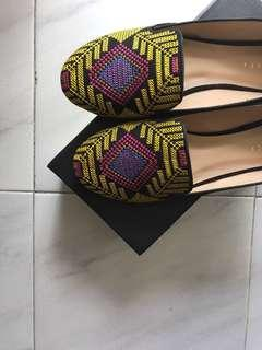 BN Embroided Flats