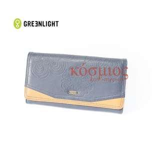 Greenlight Clutch/ Wallet Navy Faux Leather