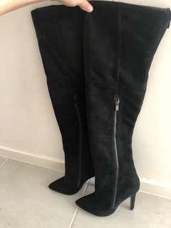 Marco gianni knee night boots