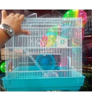 hamster cage 2 layer