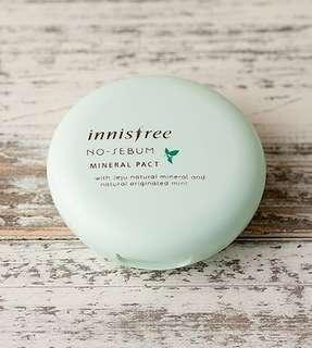 BN Innisfree No Sebum Mineral Pact 8.5g