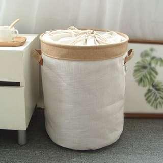 日式高品質棉麻收納桶  居家收納/居家擺設/防塵防瞞/日式