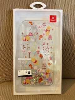 迪 士 尼 iPhone X 保 護 殼 ( 小 熊 維 尼 )