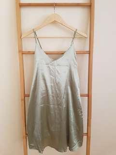 Sage cami dress