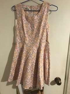 (New) pink floral dress