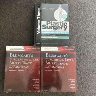 Surgery Textbooks