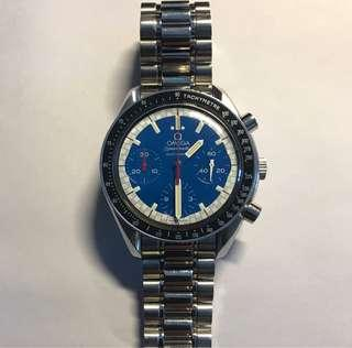 Omega Speedmaster Racing Blue