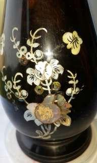 旧紫檀花瓶(8寸高)不仪價