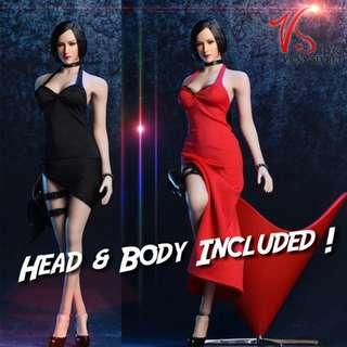 1/6 Ada Wong from Resident Evil by VStoys & Phicen TBLeague [Not Hottoys]