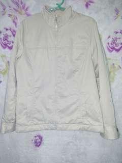 Cream jacket/coat
