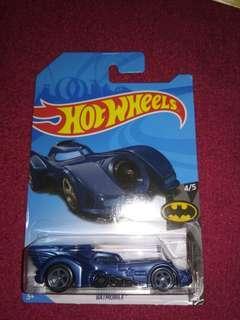 RTH 2018 hotwheels Batmobile BATMAN blue regular treasure hunt