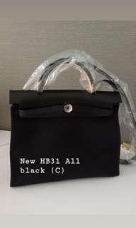 Weekend sale ❤️❤️❤️New herbag31 all black (C)