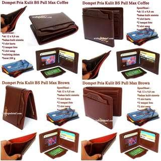 Dompet Kulit premium Pull Max BSS 7fdd100e6b