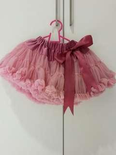 Preloved baby girl tutu skirt