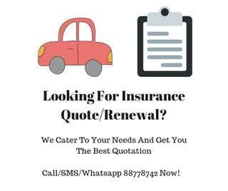 Car Insurance (New/Renewal)