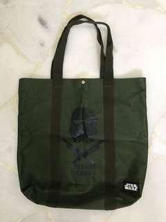 STAR WARS army green tote bag