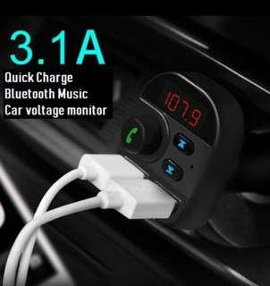 Car bluetooth 3.1A charger