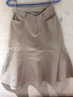 Maxmara beige skirt
