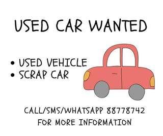 Buying Of Used Car & Scrap Car