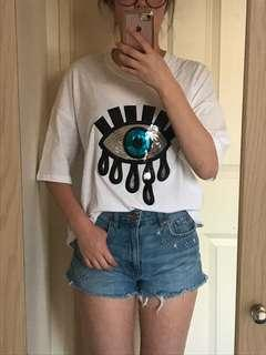 Eye Shirt // Secret ( MADE IN KOREA )