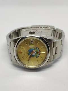 聖誕節禮物 勞力士Rolex 中東錶面 金色錶面