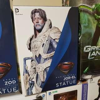 Man of Steel: Superman Jor-El 1/6 Scale Iconic Statue Dc Collectibles