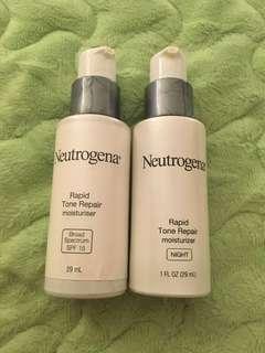 Neutrogena Rapid Tone repair moisturiser