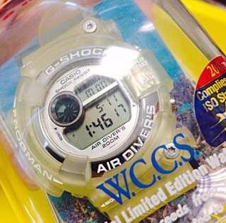 G-shock Frogman Watch Dw-8250wc Bnib Diver