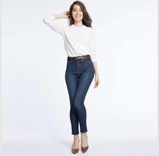 Ultra Stretch High Waisted Jeans