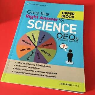 Almost BN Upper Block Give the right answer for science ORQs (EPH) 196pages
